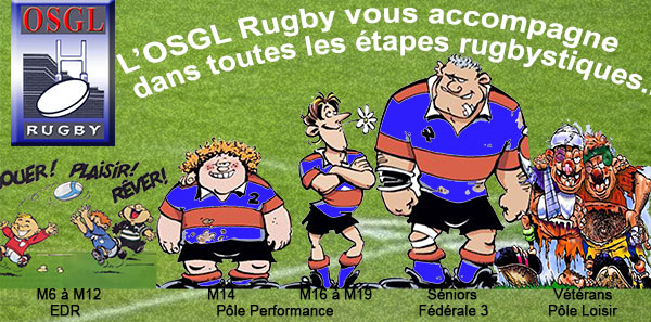 OSGL RUGBY ET SON EVOLUTION